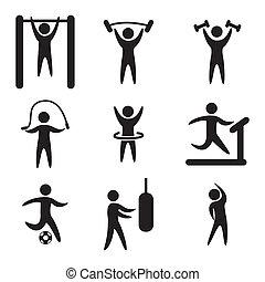 вектор, фитнес