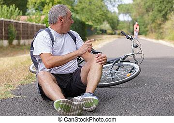 велосипед, авария