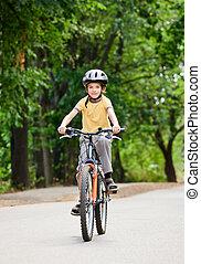 велосипед, дитя