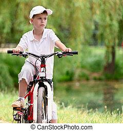 велосипед, ребенок