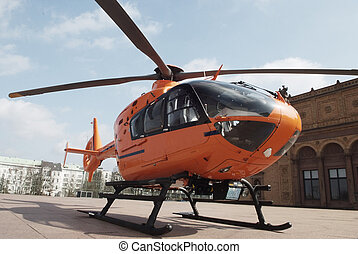 вертолет, спасение