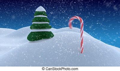 веселый, рождество, вступление