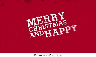 веселый, рождество