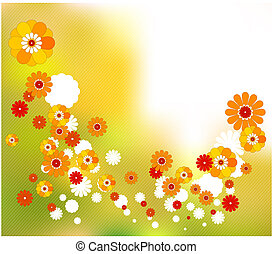весна, абстрактные, концепция