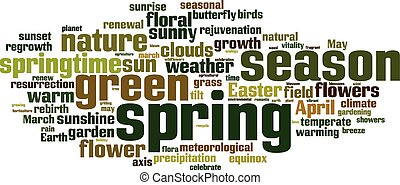 весна, слово, облако