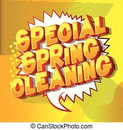 весна, уборка, особый