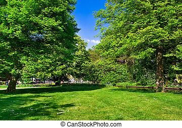 весна, time., colourful, парк
