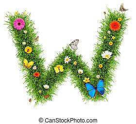 """весна, """"w"""", письмо"""