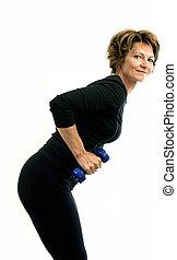 вес, упражнение