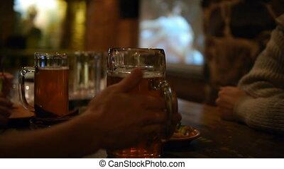 вечеринка, пиво, -, hd