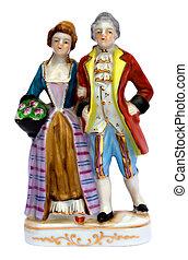 викторианский, фарфор, figurines