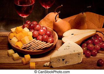вино, and, сыр