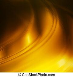 водоворот, золото, задний план