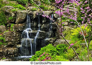 водопад, cascading