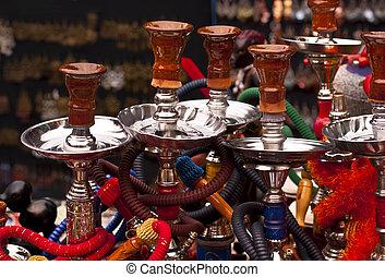 водопроводные трубы, -, shisha, nargile, hookah...