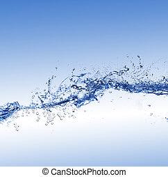 воды, волна