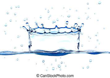 воды, всплеск