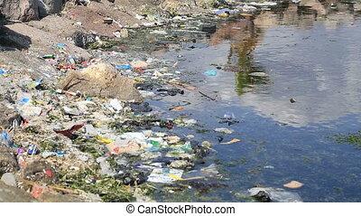 воды, загрязнение