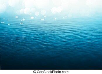 воды, задний план