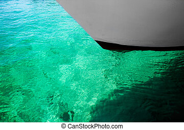 воды, зеленый, задний план