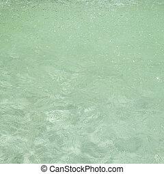 воды, зеленый