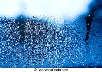воды, падение, задний план