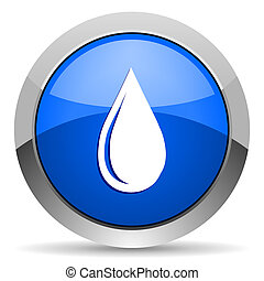 воды, падение, значок