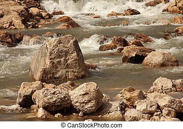 воды, поток