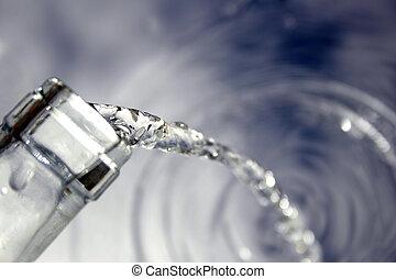 воды, чистый