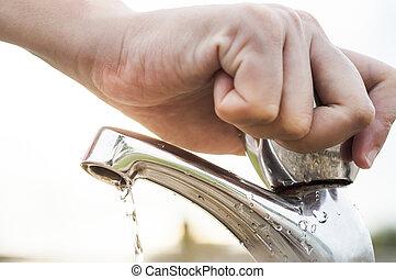 воды, экономия