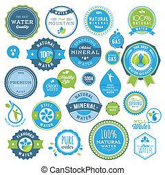 воды, stickers, badges, задавать