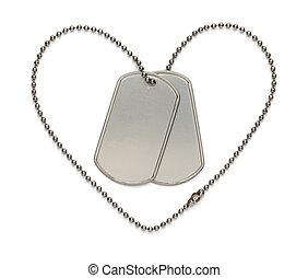 военный, сердце, собака, tags