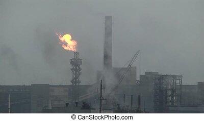 воздух, загрязнение