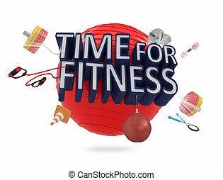 время, фитнес