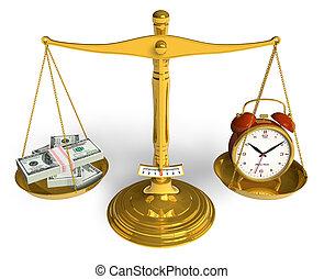 время, является, деньги