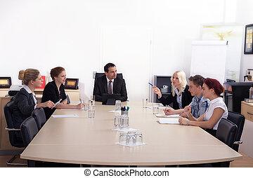 встреча, бизнес, люди