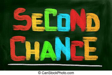 второй, концепция, шанс