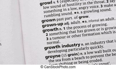 выделенный, зеленый, рост