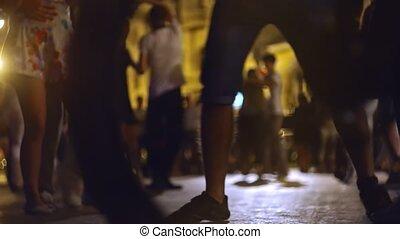выстрел, люди, уровень, festivale, молодой, open-air, танцы...