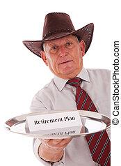 выход на пенсию, план