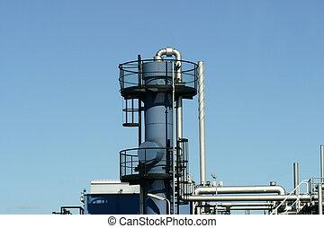 газ, промышленность