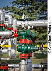 газ, and, масло, промышленность
