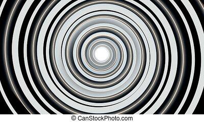 гипнотический, спираль