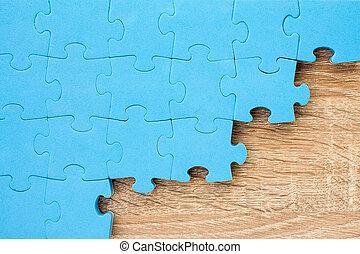 головоломки, головоломка, деревянный, задний план