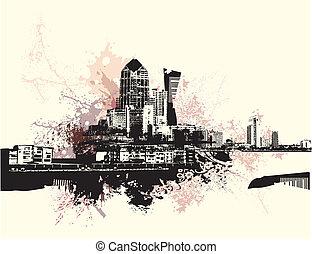 городской, изобразительное искусство