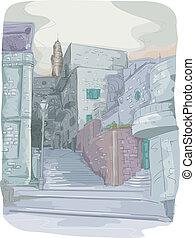 городской, buildings