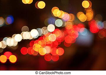 город, lights
