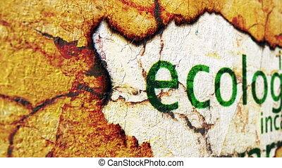 гранж, концепция, экология
