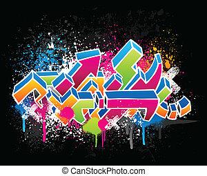 граффити, дизайн