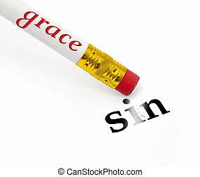 грейс, erases, грех